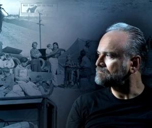 Massimo Popolizio in Furore dall'omonimo romanzo di John Steinbeck