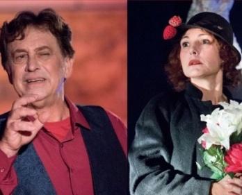 Massimo Wertmuller e Anna Ferruzzo in La gente di Cerami.
