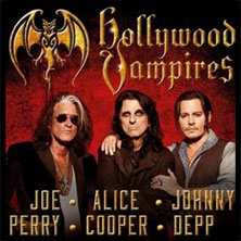Hollywood vampires: il supergruppo di Alice Cooper, Johnny Depp, Joe Perry