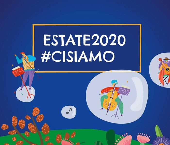I Concerti nel Parco Estate 2020:  #CISIAMO