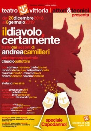 Il diavolo certamente  tratto dai racconti di Andrea Camilleri