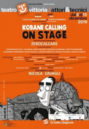 Kobane calling on stage  tratto da Kobane Calling di Zerocalcare