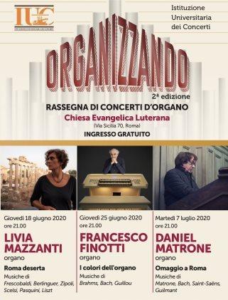 Organizzando: 2° edizione Rassegna di Concerto d'organo