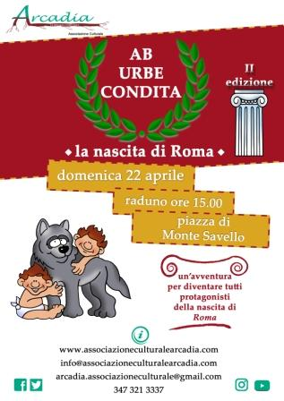 Ab urbe condita - La nascita di Roma