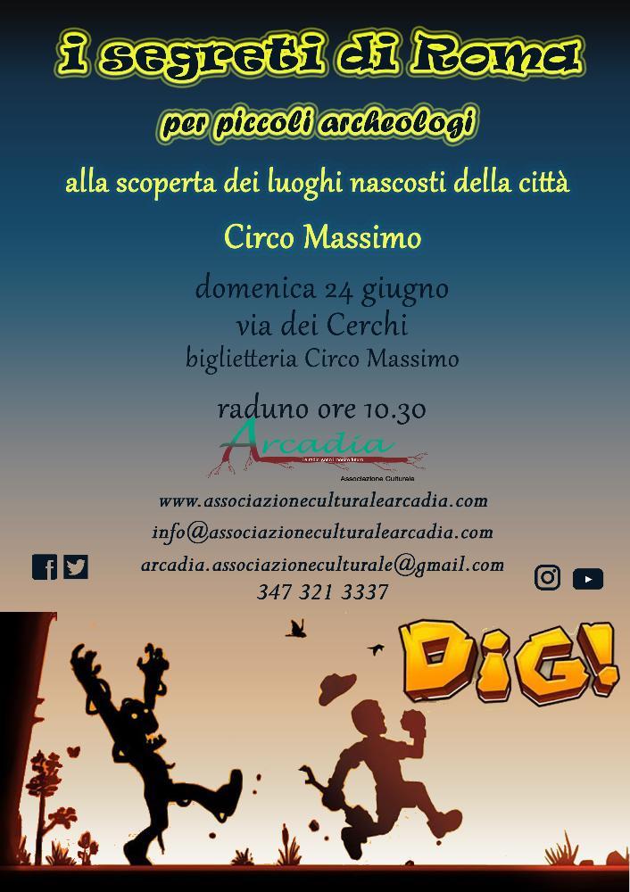 I segreti di Roma per piccoli archeologi - Circo Massimo