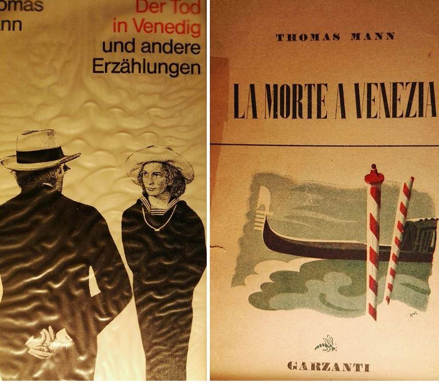 La morte a Venezia - Der tod in Venedig, di Thomas Mann, 1912