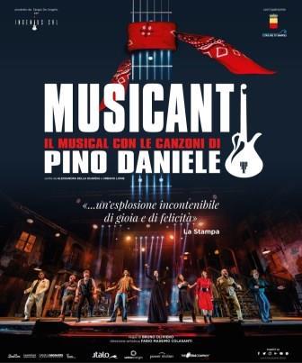 I Musicanti.Il musical oltre il musical con le canzoni di Pino Daniele