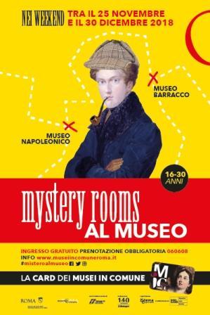 Mystery Rooms nei Musei in Comune: misteri, segreti e avventure per conoscere la storia e l'arte