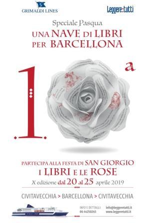 Decima edizione di Una Nave di Libri per Barcellona