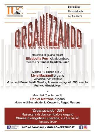 IUC presenta Organizzando: i concerti di organo nelle chiese di Roma, ad ingresso gratuito