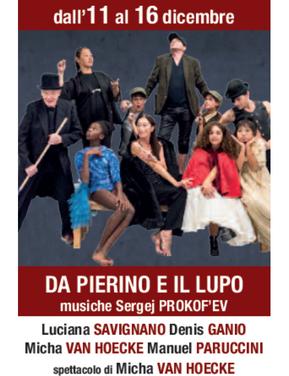 Da Pierino e il lupo Musiche Sergej Prokof'en. Spettacolo di Micha Van Hoecke