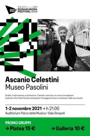 Museo Pasolini di Ascanio Celestini. Promo Bibliocard,