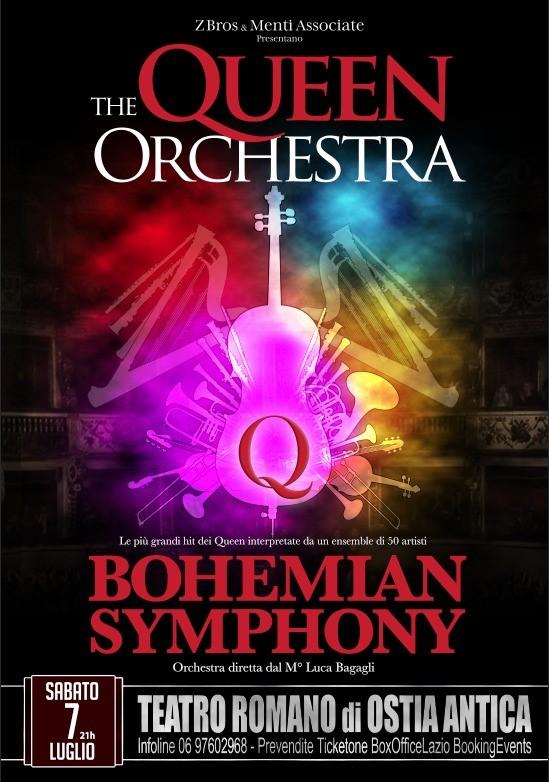 The Queen Orchestra. Concerto per gruppo Rock, Orchestra e Coro