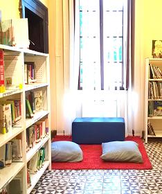 Apre la sala ragazzi della biblioteca