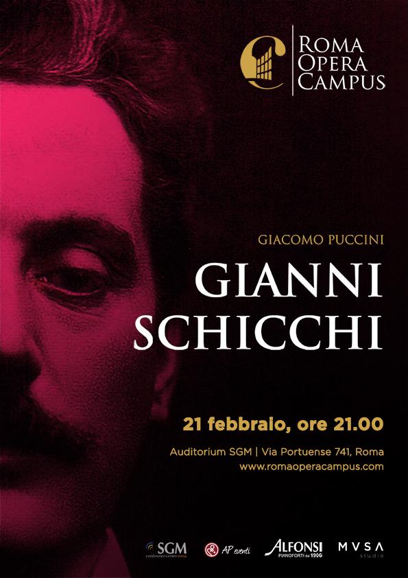 Roma Opera Campus presenta Gianni Schicchi di Giacomo Puccini.